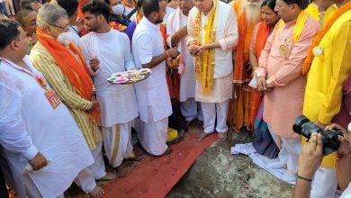 Photo of CM श्री पुष्कर सिंह धामी ने 'दिल्ली सेवा धाम ट्रस्ट' की प्रस्तावित धर्मशाला के शिलान्यास पूजन कार्यक्रम में लिया भाग