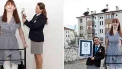 Photo of ये है दुनिया की सबसे लंबी जीवित महिला, गिनीज बुक ऑफ वर्ल्ड रिकॉर्ड में नाम हुआ दर्ज